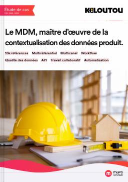etude de cas solution MDM kiloutou contextualisation des données produit