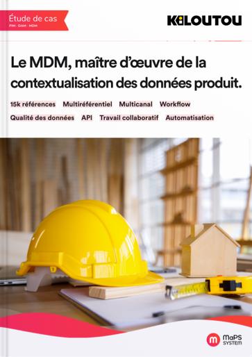 solution MDM MaPS System - Etude de cas kiloutou contextualisation des données